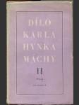 Dílo Karla Hynka Máchy. Sv. 1, Básně - Dramatické zlomky - náhled