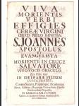 Oslavná řeč ze Salvátora na sv. Jana Evangel. 1737 - náhled