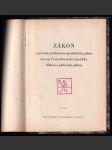 Zákon o prvním pětiletém hospodářském plánu rozvoje Československé republiky : (Zákon o pětiletém plánu) - náhled