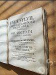 Aeneae Sylvii, senensis S.R.E. Cardinalis tituli... Pius II. - náhled