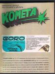 Časopis kometa č. 10  - goro ochránce makaků - náhled