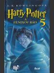Harry Potter a Fénixov rád (slovensky) - náhled