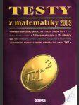 Testy z matematiky 2003 - na čtyřleté sš - náhled