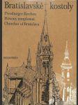 Bratislavské kostoly - náhled