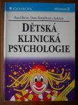Dětská klinická psychologie - náhled