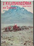 Z Kilimandžára na Saharu - Karel Rataj - náhled