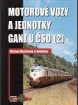 Motorové vozy a jednotky Ganz u ČSD 2. - náhled