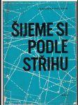 Šijeme si podle střihu - D. Pavlíková - náhled