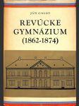 Revúcke gymnázium (1862-1874) - náhled