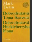 Dobrodružstvá Toma Sawyera, Dobrodružstvá Huckleberryho Finna - náhled