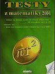 Testy z matematiky 2004 - na čtyřleté sš - náhled