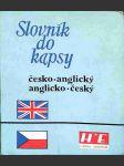 Slovník do kapsy česko-anglický anglicko-český - náhled