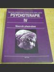 Psychoterapie IV. Sborník přednášek - náhled