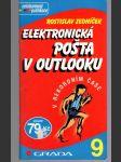 Elektronická pošta v Outlooku - náhled