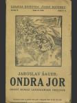 Ondra Jor - Druhý román legionářské trilogie - náhled