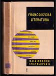 Francouzská literatura : (stručný nástin vývoje) - náhled