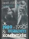 Události a komentáře 1989-1990 - náhled