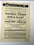 Viktoria žižkov dukla slaný 1966 program - náhled