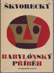 Josef škvorecký babylonský příběh - náhled