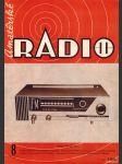Amatérské radio / roč. XVIII. / 1969 č. 8 - náhled