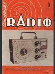 Amatérské radio / roč. XXII. / 1973 č. 9 - náhled