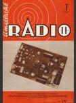 Amatérské radio / roč. XXII. / 1973 č. 7 - náhled