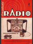 Amatérské radio / roč. XX. / 1971 č. 4 - náhled