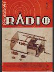 Amatérské radio / roč. XXI. / 1972 č. 1 - náhled
