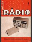 Amatérské radio / roč. XX. / 1971 č. 7 - náhled