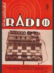 Amatérské radio / roč. XX. / 1971 č. 6 - náhled