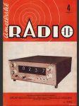 Amatérské radio / roč. XXI. / 1972 č. 4 - náhled