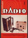 Amatérské radio / roč. XXI. / 1972 č. 3 - náhled