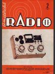 Amatérské radio / roč. XXI. / 1972 č. 2 - náhled