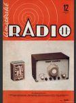Amatérské radio / roč. XXI. / 1972 č. 12 - náhled