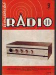 Amatérské radio / roč. XXI. / 1972 č. 9 - náhled