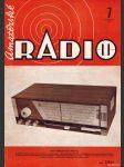 Amatérské radio / roč. XXI. / 1972 č. 7 - náhled