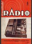 Amatérské radio / roč. XXI. / 1972 č. 6 - náhled