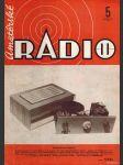 Amatérské radio / roč. XXI. / 1972 č. 5 - náhled