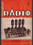 Amatérské radio / roč. XXII. / 1973 č. 2 - náhled