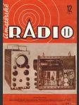 Amatérské radio / roč. XXII. / 1973 č. 12 - náhled