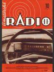 Amatérské radio / roč. XXII. / 1973 č. 10 - náhled
