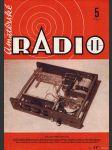 Amatérské radio / roč. XXII. / 1973 č. 5 - náhled