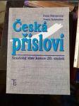 Česká přísloví - Soudobý stav konce 20. století - náhled