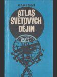 Kapesní atlas světových dějin - náhled