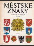 Městské znaky v českých zemích - náhled