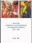 Slovník českých a slovenských výtvarných umělců, 1950-1997 VI. Kon-Ky - náhled