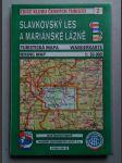 Slavkovský les a Mariánské lázně. Turistická mapa 1:50 000 - náhled