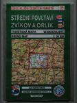 Střední Povltaví. Zvíkov a Orlík. Turistická mapa - 1:50 000 - náhled