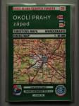 Okolí Prahy - západ. Turistická mapa 1:50 000 - náhled