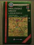 Pavlovské vrchy a Dolní Podyjí. Turistická mapa 1:50 000 - náhled
